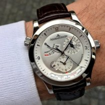 Jaeger-LeCoultre Master Geographic Acero 40mm Plata