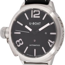 U-Boat Classico Zilver Zwart Arabisch