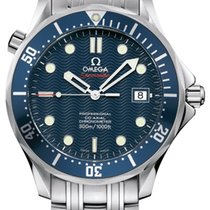 Omega Seamaster Diver 300 M Steel 41mm Blue No numerals United Kingdom, Wilmslow