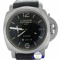 Panerai Luminor 1950 8 Days GMT Steel 44mm Black Arabic numerals United States of America, New York, Smithtown