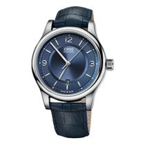 Oris Classic Steel 42mm Blue United Kingdom, London
