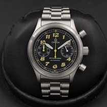 Omega Dynamic Chronograph Steel 38mm Black United States of America, California, Huntington Beach