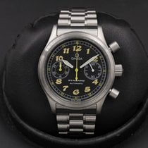 Omega Dynamic Chronograph Steel 38mm Black