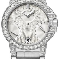 Harry Winston new Automatic Guilloché dial 36mm White gold