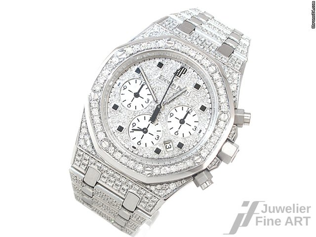 Audemars Piguet Royal Oak 750 18k Gold Mit Diamanten Nicht Fur
