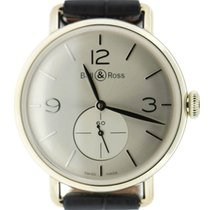 Bell & Ross Vintage BRWW1-ME-AG-SI/SCR nuevo