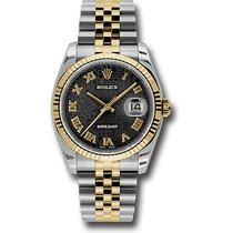 Rolex Datejust Steel 36mm Black Roman numerals United States of America, Pennsylvania, Holland