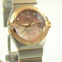 Omega Constellation  Co-Axial 27 mm  Stahl-Rosegold Brillanten