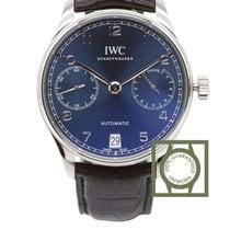 IWC Portugieser 7 Days Blue dial - NEW