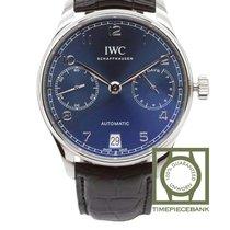 IWC Portuguese Automatic Acero 42.3mm Azul Arábigos