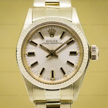 Rolex 6719 Oyster Perpetual Ladies Yellow Gold (27373)