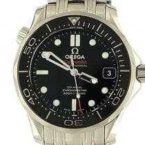 Omega Seamaster Diver 300m Co-Axial Stahl Automatik Armband...