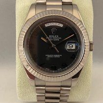 Rolex Day-Date II / President II White gold 218239 / 41mm (LC100)