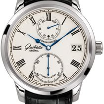 Glashütte Original Or blanc Senator Chronometer 42mm nouveau