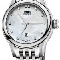 Oris Artelier Date Steel 31mm Mother of pearl