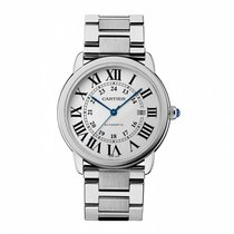 Cartier 42mm Automatic 2018 new Ronde Solo de Cartier Silver