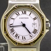 Cartier Santos Octagon Gold&Steel Automatic MidSize 31MM
