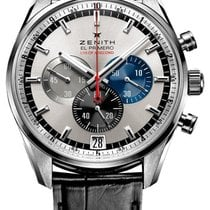 Zenith El Primero Striking 10th Silver Dial Automatic Chronogr...