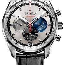 Zenith El Primero Striking 10th Silver Dial Automatic Chronogr...