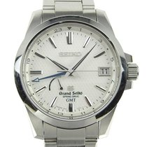 Seiko Grand Spring Drive Power Reserve Gmt Men's Wrist Watch...