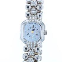 Daniel Roth pre-owned Quartz 24mm White Sapphire crystal