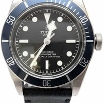 Tudor 79220B Staal Black Bay 41mm tweedehands