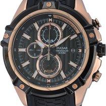 Pulsar Chronograph 49mm Quartz new Black