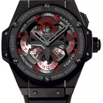 Hublot Ceramic Automatic No numerals 48mm new King Power
