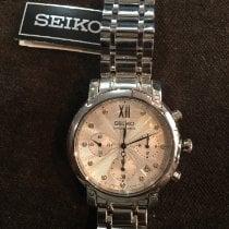 2b26577d4a6f Seiko Reloj de dama Cuarzo nuevo Reloj con estuche y documentos originales