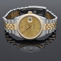 Rolex Oyster Perpetual Date Gold/Steel 34mm Champagne No numerals United States of America, Nevada, Henderson