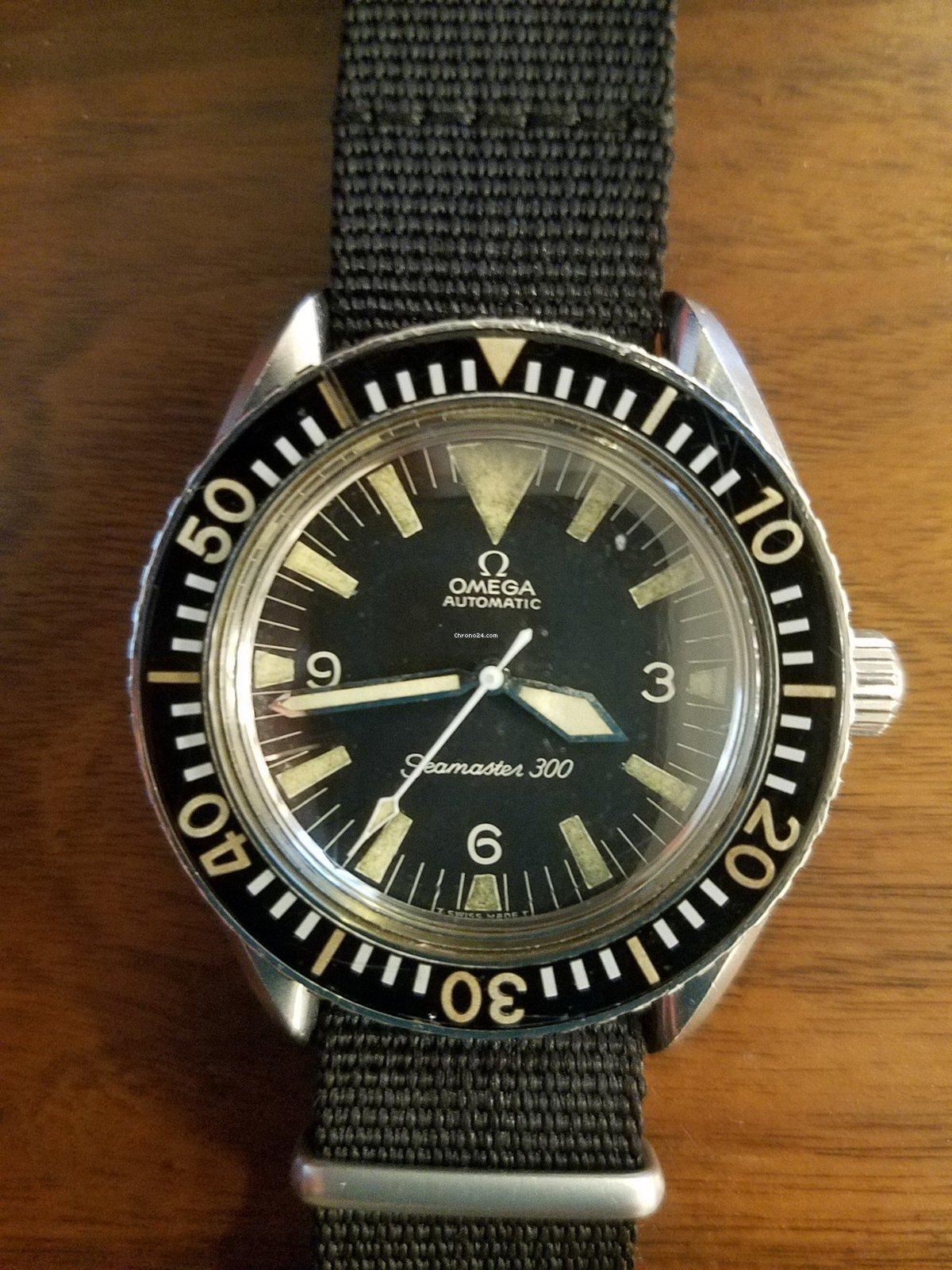 Omega Seamaster 300 Vintage Big Triangle for $8,750 for sale