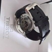 Tissot PRC 200 brugt Sort Kronograf Dato Tachymeter Gummi