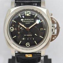 Panerai Luminor 1950 10 Days GMT Steel 44mm Black Arabic numerals Singapore, Singapore