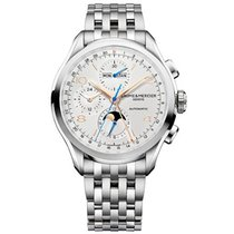 Baume & Mercier Clifton M0A10279 New Steel 43mm Automatic