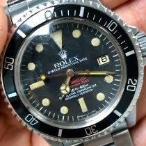 Rolex Sea-Dweller Steel 40mm Black No numerals United Kingdom, London