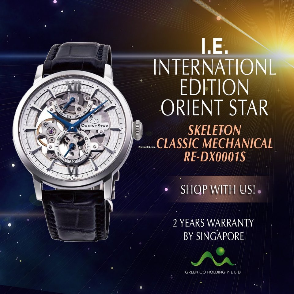 Classic Orient Skeleton Star Edition Dx0001s International rxBoWCQde