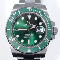Rolex Submariner Date Steel 40mm Green No numerals United Kingdom, Peebles