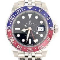 Rolex 126710BLRO Steel 2018 GMT-Master II 40mm pre-owned