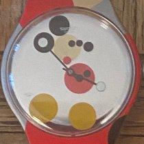 Swatch Plástico 41mm Quartzo SUOZ290S novo