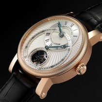 Benzinger Regulator White Rose Gold