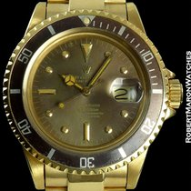 Rolex Submariner 1680 Unpolished 18k Deeply Tropical W/ Box...
