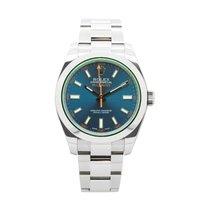 Rolex Milgauss 116400GV Z Blue Cadran Bleu 2014