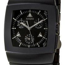 Rado Sintra Chronograph Black Ceramic Mens Quartz Watch Black...