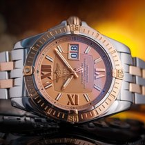 Breitling Windrider Cocpit Steel/18k Gold