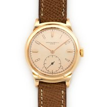 Patek Philippe Rose Gold Scrolled Lugs Watch Ref. 1491