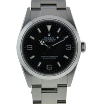 Rolex Oyster Perpetual Explorer 36mm Stainless Steel Smooth...