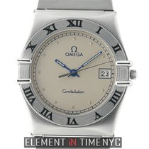 Omega Constellation Day-Date Steel 33mm Silver Roman numerals