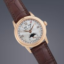 Blancpain Leman Moonphase Calendar 18ct pink gold automatic...