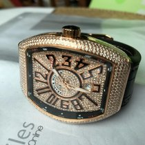 Franck Muller Red gold Automatic 40mm new Vanguard