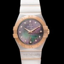 Omega Constellation Quartz Rose gold 27mm Mother of pearl United States of America, California, San Mateo